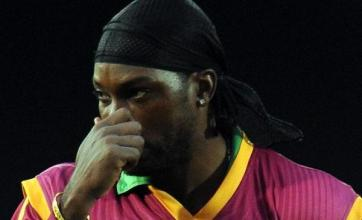 Gayle says sorry for 'terrible' display