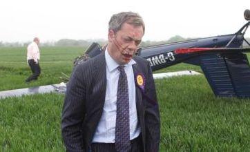 General Election 2010: Ex-Ukip leader Nigel Farage's 'miracle escape' from plane crash