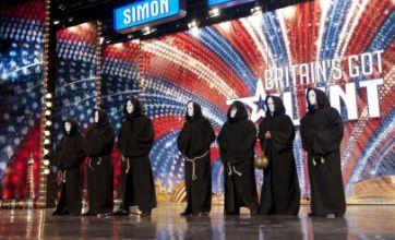 Simon Cowell Chippendoubles act amuses Britain's Got Talent judges