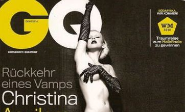 Christina Aguilera strips naked for sexy German GQ magazine shoot