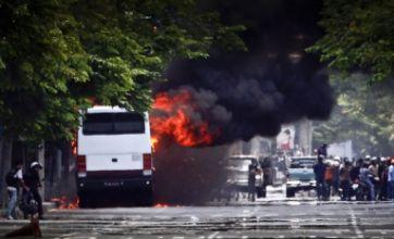 British embassy closed in Bangkok war zone