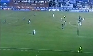 Inca's 45-yard free-kick goal in Paraguay set for YouTube stardom