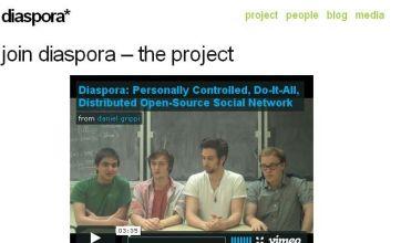 Diaspora: Anti-Facebook social network site coming soon