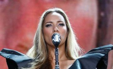 Leona Lewis rocks out in Rio