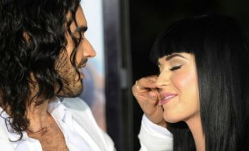 Katy Perry: Russell Brand and I are the new Brangelina
