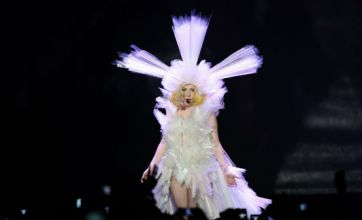Lady Gaga is playing the O2 Arena