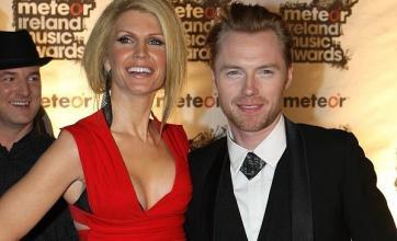 Boyzone's Ronan splits from wife