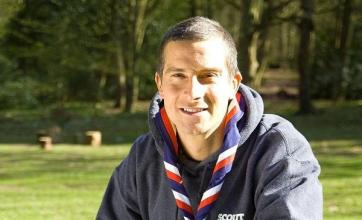 Grylls plans to visit 10,000 Scouts