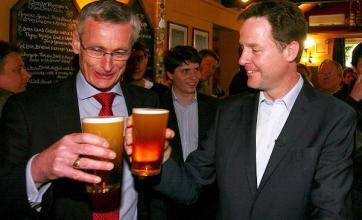 'Sky's the limit for us' says Clegg