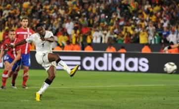 World Cup 2010: Asamoah Gyan's late penalty sinks ten-man Serbia