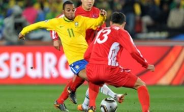 Maicon and Elano help Brazil avoid slip-up against North Korea