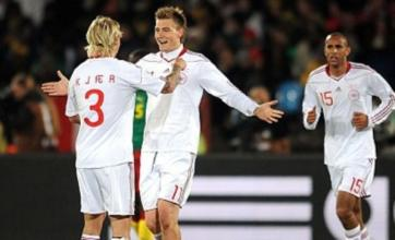 Dennis Rommedahl helps Denmark send Cameroon out