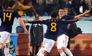 World Cup 2010: David Villa scores as Spain beat Chile