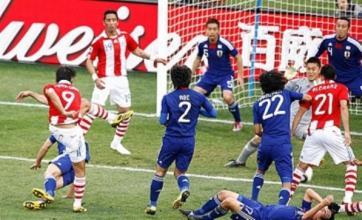 Japan pay penalty as Paraguay reach last-eight