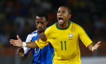 Robinho eyes summer transfer to Barcelona