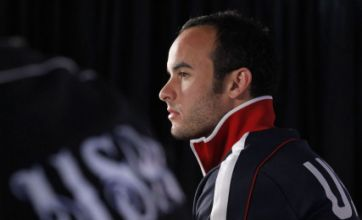 Landon Donovan's spell at Everton to help USA against England