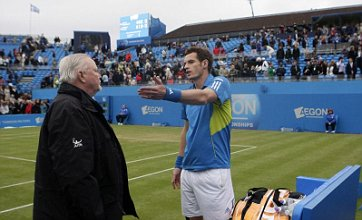 Andy Murray gets Mardy with Fish as Queen's Club stops for bad light