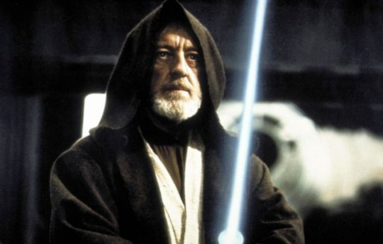 Alec Guinness as Obi-Wan Picture: Absolute Film Archive