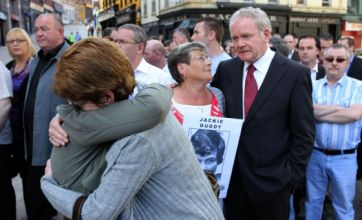 Families arrive for Bloody Sunday findings