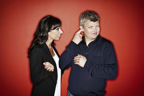 Christine Bleakley, seen here with her former One Show co-host Adrian Chiles, kept the BBC waiting too long