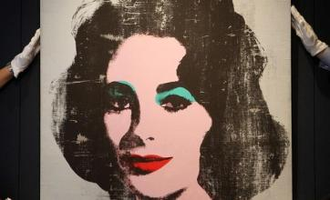 Warhol`s Liz portait fetches £6.7m