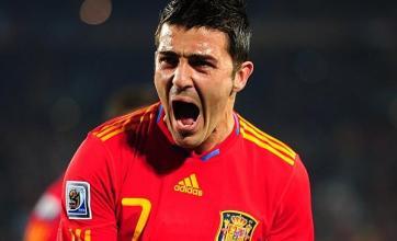 Villa puts Spain back on track