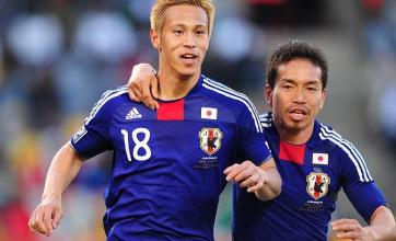 Honda gives Japan victory