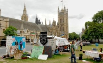 Parliament Square peace camp eviction cancelled after court ruling