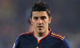 David Villa scored Spain's winner (Allstar)