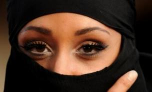 Full-face veils were the subject of the poll (Anthony Devlin/PA Wire)