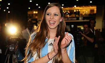 Miss World-style World Cup penalty competition won by Argentina beauty