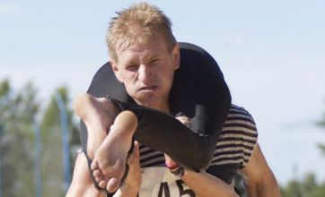Wife-carrying championship win for Finland