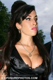 Amy Winehouse on her way to watch Tony Bennett at the iTunes Festival