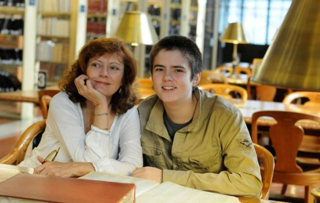 Who Do You Think You Are: With  Susan Sarandon and son Miles (NBC Photo: Nicole Rivelli)