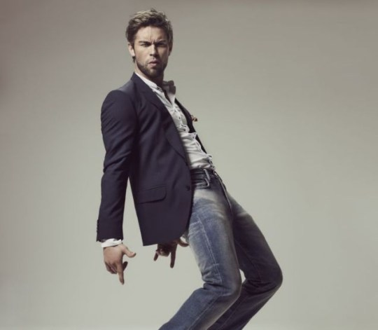 Chace Crawford: He's got sole