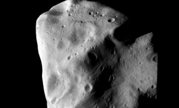 New images of asteroid Lutetia sent to earth by space probe Rosetta