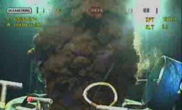 BP races to screw new cap on leak
