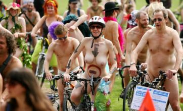 After California train mooning: More naked rituals and festivals