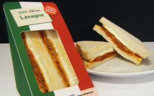 Mamma Mia! A lasagne sandwich can now be bought at Tesco