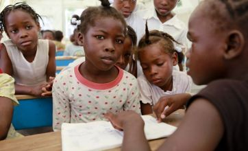 Haiti is still trying to rebuild, six months after a devastating earthquake