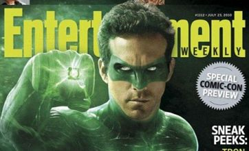 Ryan Reynolds as the Green Lantern: First look at superhero