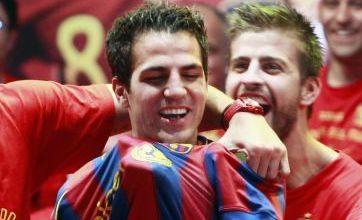 Sergio Buesquets urges Cesc Fabregas to move to Barcelona
