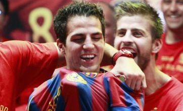 Sergio Buesquets urges Cesc Fabregas to move to Barcelona