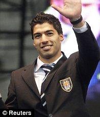 Striker: Luis Suarez