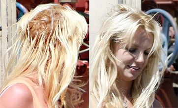 Britney Spears, what's up with your barnet?