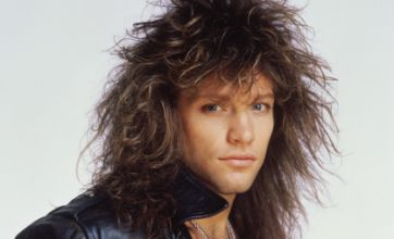 Jon Bon Jovi snapped in bed with topless women