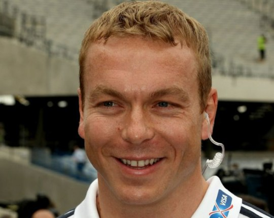 Sir Chris Hoy will be aiming to repeat his Beijing success at the London 2012 Olympics