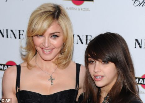 Madonna has finally found her perfect business partner in Lourdes, who has developed a 'great eye'