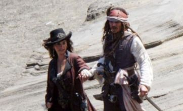 Johnny Depp joined by Penelope Cruz in first on-set photos from Pirates Of The Caribbean 4