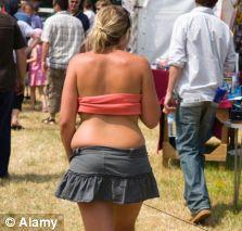 skimpy clothes